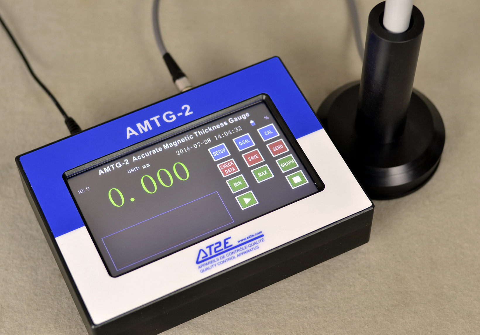 Amtg 2 Accurate Magnetic Thickness Gauge At2e