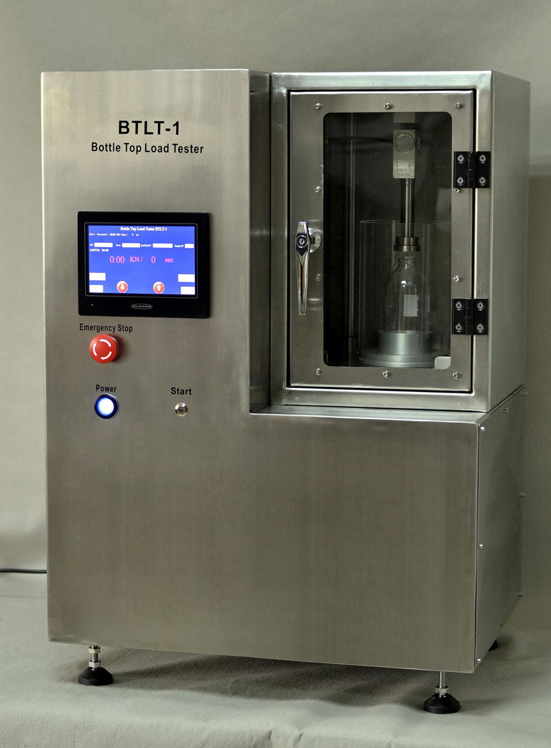 Btlt 1 Glass Bottle Top Load Tester Maximum Top Load
