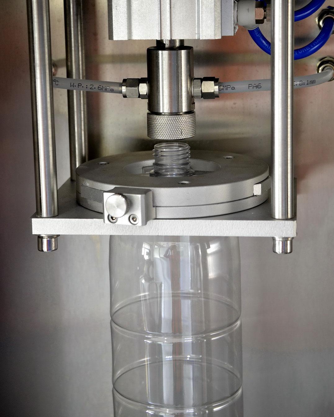 Máy kiểm tra áp suất nén trong chai PET