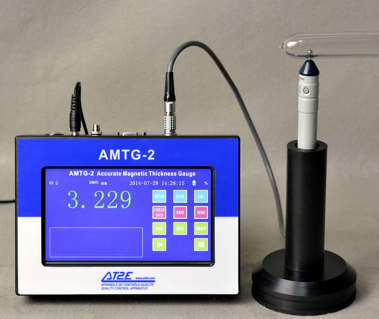 Máy đo độ dày chai PET AMTG2 | Đại lý AT2E tại Việt Nam